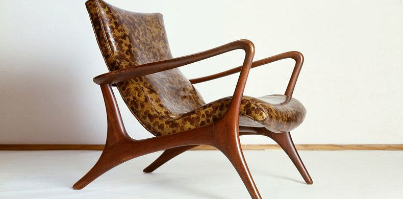 Vladimir Kagan Vladimir Kagan Low back Lounge Chair 790x390