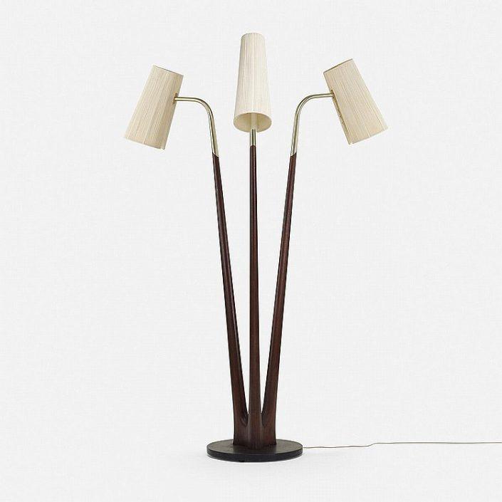 Vladimir Kagan Swan Floor Lamp  Vladimir Kagan Vladimir Kagan Swan Floor Lamp 705x705