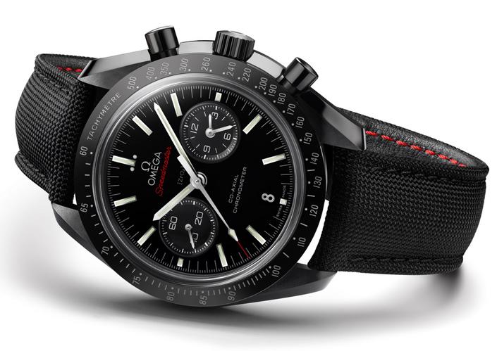 OMEGA-Dark-Side-Moon  Baselworld 2014 - Some of the best brands in show OMEGA Dark Side Moon Speedmaster 6