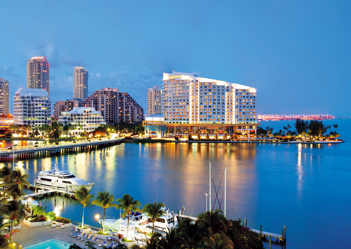 Mandarin Oriental Hotel  Miami Best Hotel Penthouse Suites Mandarin Oriental Hotel