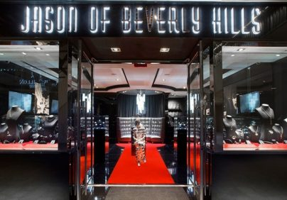 Jason Of Beverly Hills dazzles with new design district digs