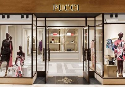 Emilio Pucci's New Boutique Makes a Swinging Impression  Emilio Pucci's New Boutique Makes a Swinging Impression Emilio Puccis New Boutique Makes a Swinging Impression 8 404x282