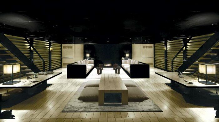 Jaw-dropping the interior of Giorgio Armani's Yacht