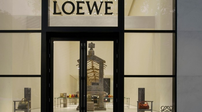 Loewe's first North American store in Miami Design District