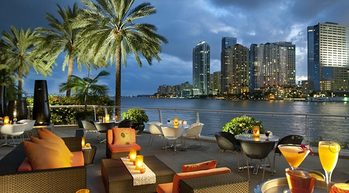 The Best 4 Rooftop Bars in Miami  The Best 4 Rooftop Bars in Miami hotel restaurants large