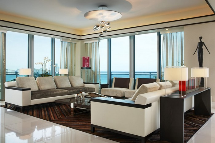 Britto Charette Bal Harbour living-room Best Interior Design Projects  Britto Charette Bal Harbour: Best Interior Design Projects Britto Charette Bal Harbour living room Best Interior Design Projects 1