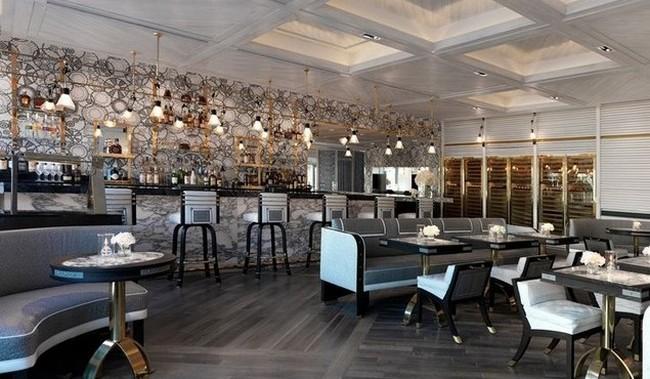 Scarpetta restaurant in miami by david collins studio