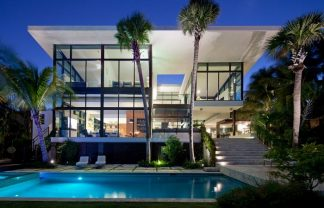 CORAL GABLES WATERFRONT RESIDENCE FROM TOUZET STUDIO