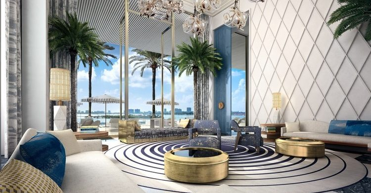 Jean Louis Deniot JEAN LOUIS DENIOT DESIGNS NEW TOWER IN MIAMI Jean Louis Deniot Designs New Tower in Miami 1 750x390