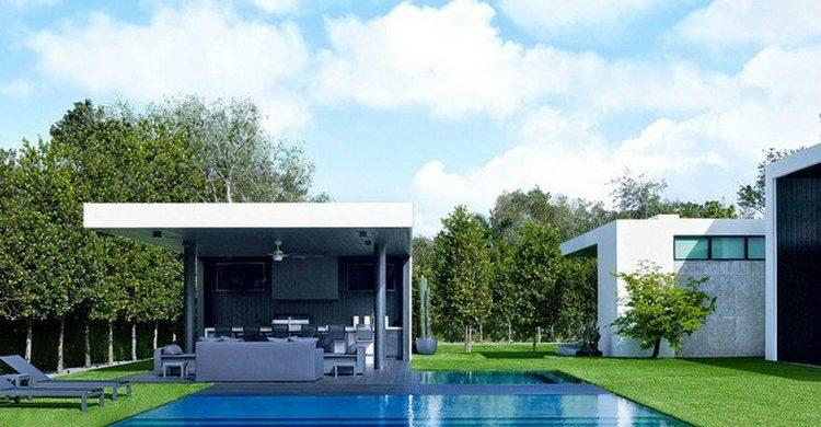alex rodriguez modern home CELEBRITIES HOME FLORIDA ALEX RODRIGUEZ MODERN HOME 0616 AD RODR14 02 sq 1 750x390