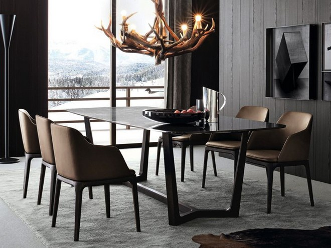 modern-poliform-concord-dining-table Thanksgiving Day The Perfect Modern Dining Tables for Thanksgiving Day Modern Poliform Concord Dining Table