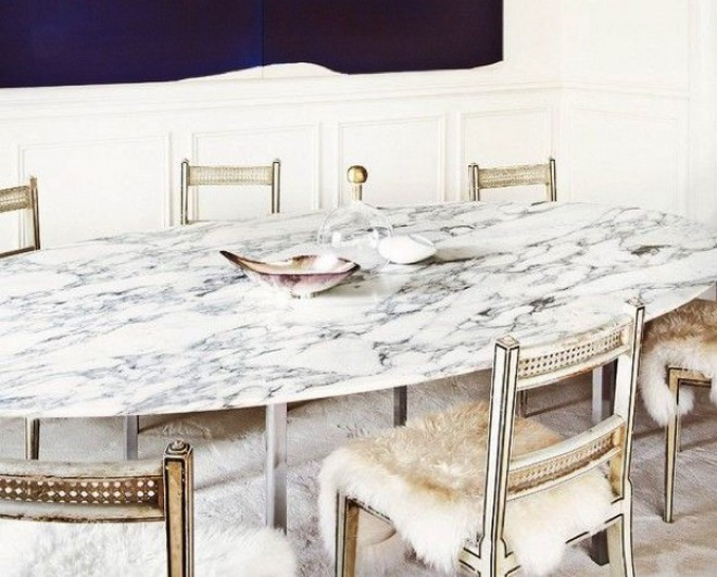 Oval Granite Dining Table E1448378007217 Thanksgiving Day The Perfect  Modern Dining Tables ... Part 54