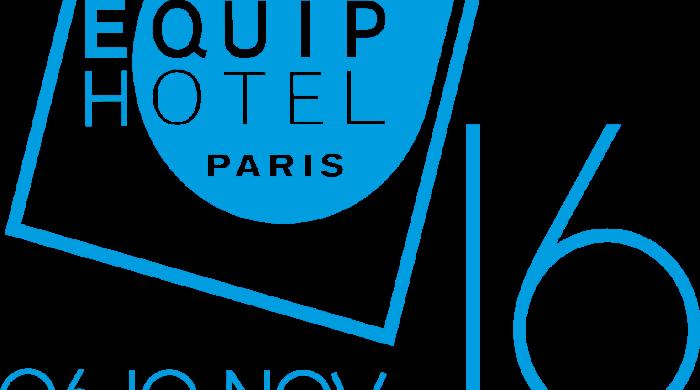 Equip'Hotel Best Exhibitors at Equip'Hotel in Paris logo dates bleu 2016 700x390