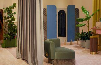LUXURY BRAND FENDI RETAIL DESIGN: LUXURY BRAND FENDI SPOILS ITS VIP CLIENTS IN MIAMI fendi the happy room design miami designboom 1800 324x208