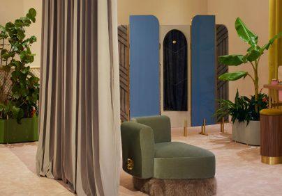 LUXURY BRAND FENDI RETAIL DESIGN: LUXURY BRAND FENDI SPOILS ITS VIP CLIENTS IN MIAMI fendi the happy room design miami designboom 1800 404x282
