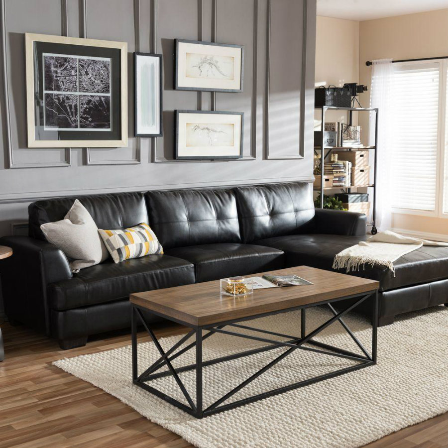 leather sofa 5 Black Leather Sofas ideal for your living room 5 Leather Sofas Or We Found What Your Living Room Was Missing 2