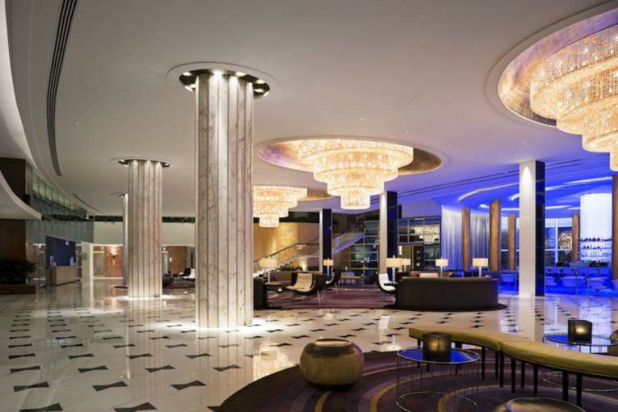 Miami's 10 Best Luxury Hotel Lobby Designs Luxury Hotel Lobby Designs Miami's 10 Best Luxury Hotel Lobby Designs Chateau Lobby Bowtie Floor