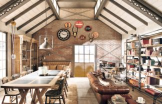 Industrial Design HERE ARE VINTAGE INDUSTRIAL DESIGN IDEAS FOR YOUR LOFT DESTAQUE 16 324x208