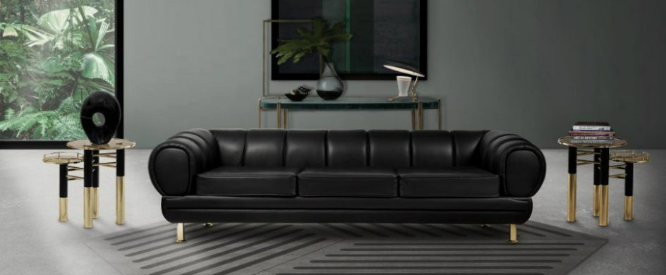 leather sofa 5 Black Leather Sofas ideal for your living room DESTAQUE 2 944x390