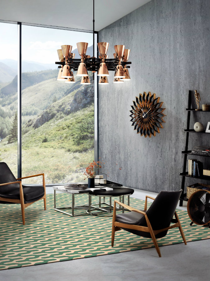 HOW A MID-CENTURY CHANDELIER CAN ELEVATE YOUR LIVING ROOM DECOR mid-century chandelier HOW A MID-CENTURY CHANDELIER CAN GIVE STLYE YOUR LIVING ROOM How A Mid Century Chandelier Can Elevate Your Living Room Decor 1
