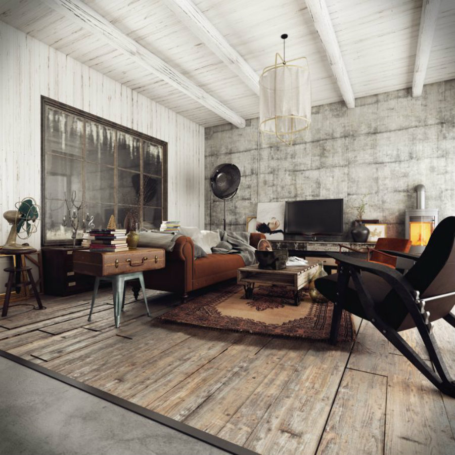 DAZZLING VINTAGE INDUSTRIAL HOME INSPIRATION! vintage industrial home VINTAGE INDUSTRIAL HOME INSPIRATION YOU CAN TRY! IMG1