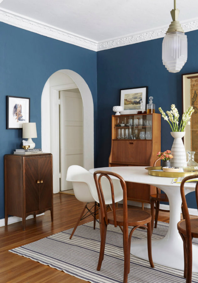 Blue dining rooms: how to apply the color to your dining room blue dining rooms Blue dining rooms: how to apply the color to your dining room IMG2 1