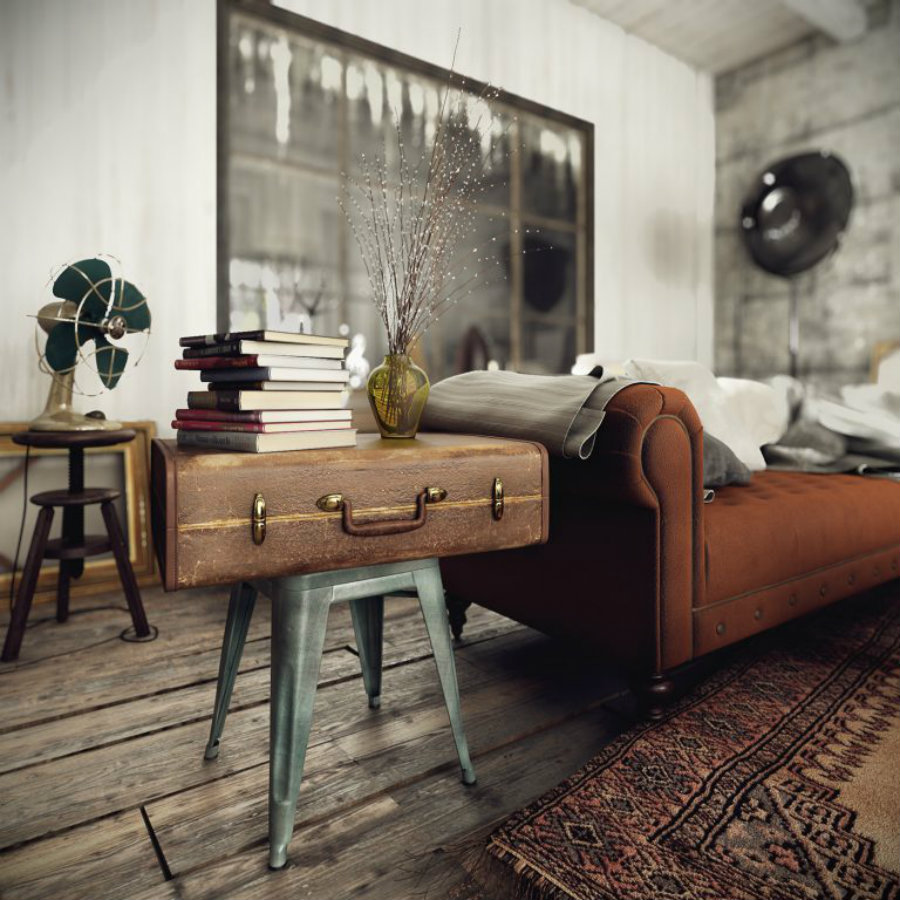 DAZZLING VINTAGE INDUSTRIAL HOME INSPIRATION! vintage industrial home VINTAGE INDUSTRIAL HOME INSPIRATION YOU CAN TRY! IMG2