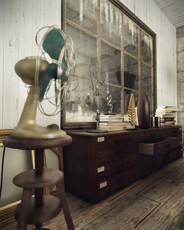 DAZZLING VINTAGE INDUSTRIAL HOME INSPIRATION! vintage industrial home VINTAGE INDUSTRIAL HOME INSPIRATION YOU CAN TRY! IMG3