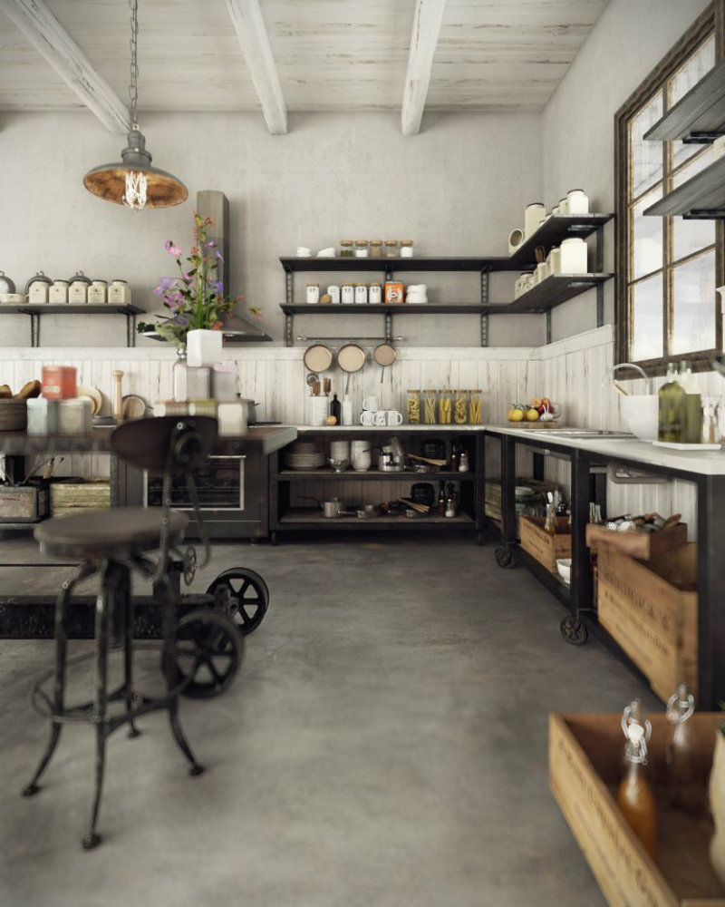 DAZZLING VINTAGE INDUSTRIAL HOME INSPIRATION! vintage industrial home VINTAGE INDUSTRIAL HOME INSPIRATION YOU CAN TRY! IMG4