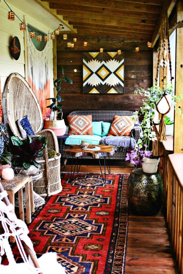 Bohemian Interior Design Hot on Pinterest: 5 Bohemian Interior Design Ideas for you! IMG5 5