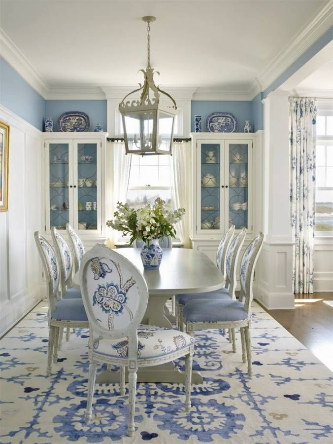 blue dining rooms Blue dining rooms: how to apply the color to your dining room IMG7 1