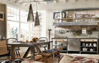 industrial kitchen style 7 TIPS FOR YOU TO GET THE BEST INDUSTRIAL KITCHEN STYLE! xVintage and Industrial Style Kitchens 5 324x208