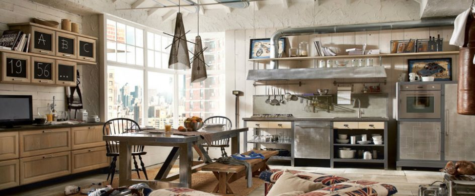 industrial kitchen style 7 TIPS FOR YOU TO GET THE BEST INDUSTRIAL KITCHEN STYLE! xVintage and Industrial Style Kitchens 5 944x390