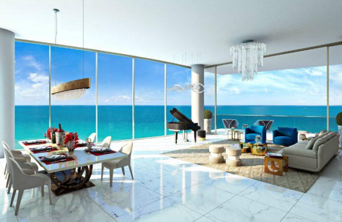 Karl Lagerfeld's impact in interior design in Miami karl lagerfeld KARL LAGERFELD'S IMPACT IN MIAMI'S INTERIOR DESIGN Karl Lagerfeld   s impact in interior design in Miami 3 705x458