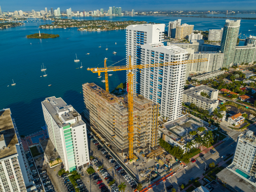 Behold The Development Of Jean Nouvel's Monad Terrace monad terrace Monad Terrace: Behold The Development Of Jean Nouvel monad terrace miami beach construction jean nouvel designboom 02