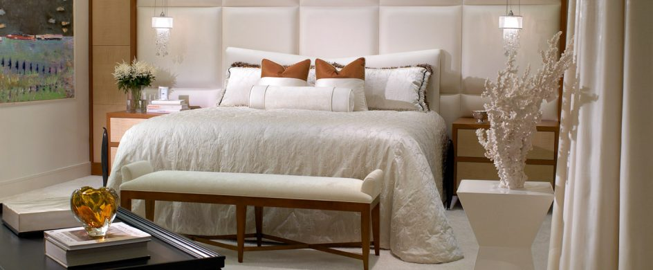 Get To Know These Miami Based Top Interior Designers - Part I top interior designers Get To Know These Florida Based Top Interior Designers – Part I 010 KATZ Master Bedroom 944x390
