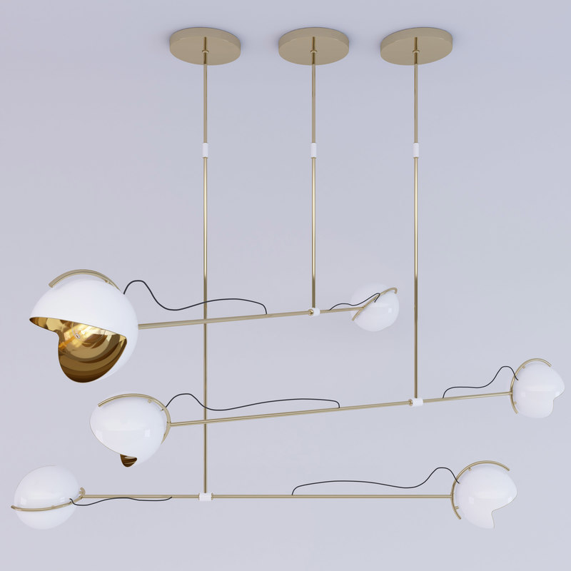 Chic Urban Decór, A Magnificent Trend For The Ages chic urban décor Chic Urban Decór, A Magnificent Trend For The Ages 3D delightfulls laine suspension lamp D