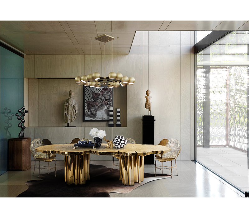 Chic Urban Decór, A Magnificent Trend For The Ages chic urban décor Chic Urban Decór, A Magnificent Trend For The Ages fortuna dining table 04 boca do lobo