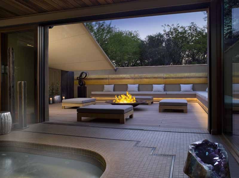 Clodagh: The Power Of Blissful Serenity Spaces clodagh Clodagh: The Power Of Blissful Serenity Spaces WomensSpa2FirePitLounge MIRAVAL SPA by Clodagh photo by Ken Hayden