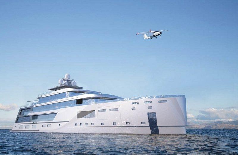 hybrid explorer yacht Admire Gill Schmid's New Superyacht Project, The Hybrid Explorer Yacht Admire Gill Schmids New Superyacht Project The Hybrid Explorer Yacht 9