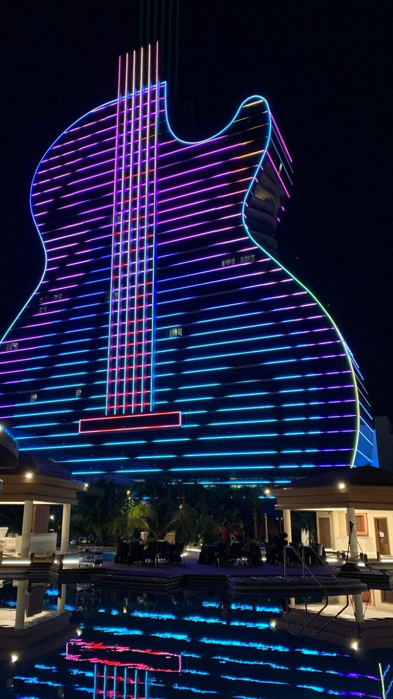 hard rock's massive guitar-shaped hotel Be Amazed By Hard Rock's Massive Guitar-Shaped Hotel By Klai Juba Be Amazed By Hard Rocks Massive Guitar Shaped Hotel By Klai Juba 2 e1573731505507