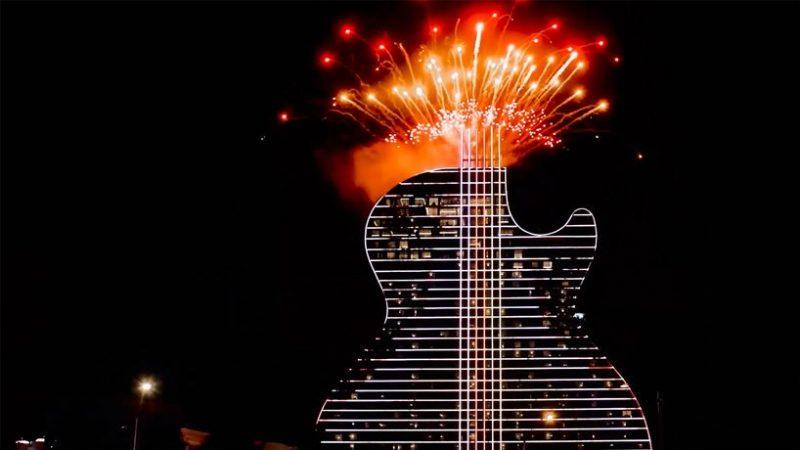 hard rock's massive guitar-shaped hotel Be Amazed By Hard Rock's Massive Guitar-Shaped Hotel By Klai Juba Be Amazed By Hard Rocks Massive Guitar Shaped Hotel By Klai Juba 3 e1573731604185