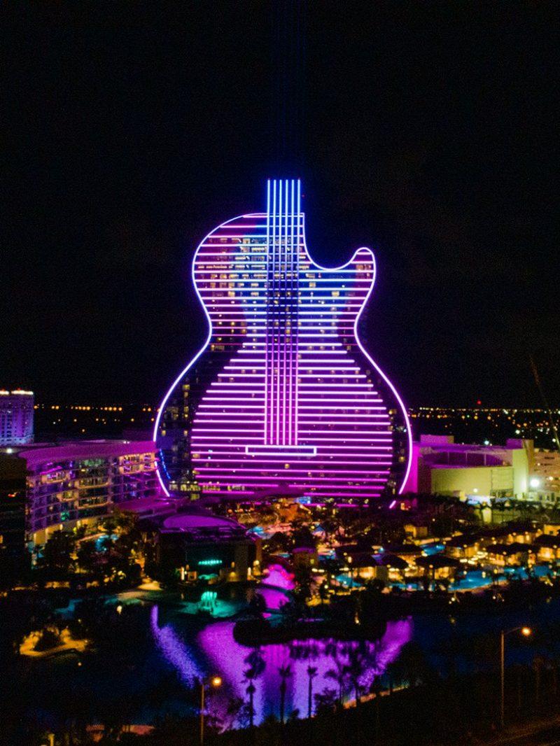 hard rock's massive guitar-shaped hotel Be Amazed By Hard Rock's Massive Guitar-Shaped Hotel By Klai Juba Be Amazed By Hard Rocks Massive Guitar Shaped Hotel By Klai Juba 4 e1573731643449
