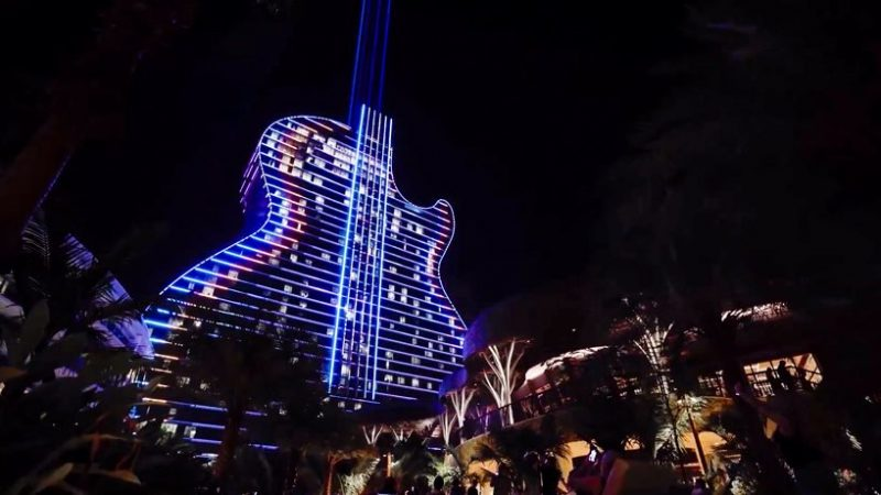 hard rock's massive guitar-shaped hotel Be Amazed By Hard Rock's Massive Guitar-Shaped Hotel By Klai Juba Be Amazed By Hard Rocks Massive Guitar Shaped Hotel By Klai Juba 6 e1573732723251