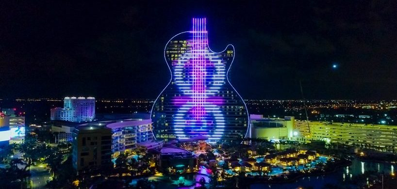 hard rock's massive guitar-shaped hotel Be Amazed By Hard Rock's Massive Guitar-Shaped Hotel By Klai Juba Be Amazed By Hard Rocks Massive Guitar Shaped Hotel By Klai Juba 818x390