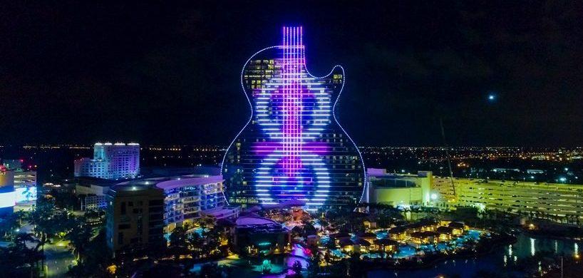 hard rock's massive guitar-shaped hotel Be Amazed By Hard Rock's Massive Guitar-Shaped Hotel By Klai Juba Be Amazed By Hard Rocks Massive Guitar Shaped Hotel By Klai Juba 818x390