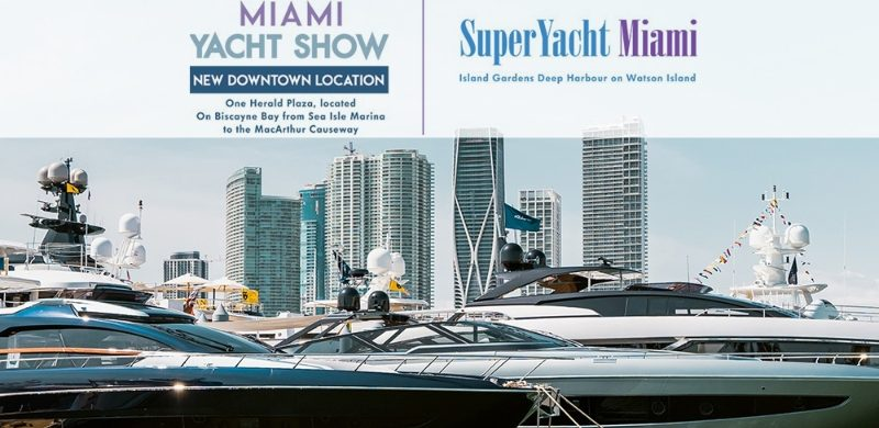 miami yacht show Miami Yacht Show: Where to Stay and Eat! MYS 1 800x390