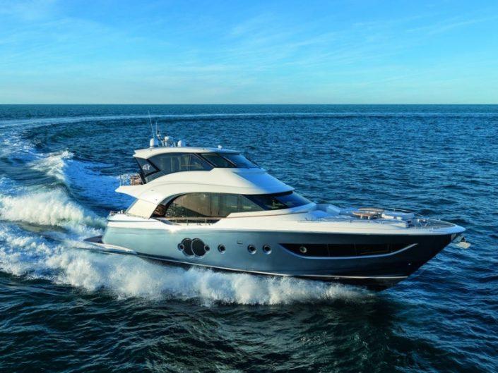 Miami Yacht Show, Miami Design Agenda, Miami Event, Yacht, Yacht Lifestyle miami yacht show Miami Yacht Show Highlights – Top 5 Yacht Debuts! MCY 70 Skylounge 705x529