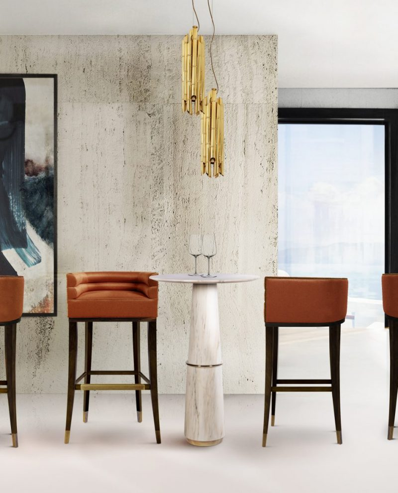 best bar stool ideas Be Inspired By The Best Bar Stool Ideas For Your Home Be Inspired By The Best Bar Stool Ideas For Your Home 4 scaled e1583343202375