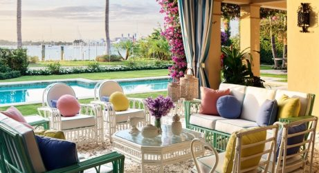 liz lange Liz Lange's Tropical Holiday Home in Palm Beach Fashion Maven Liz Lange Crafts a Palm Beach Getaway with Personality 1 461x251